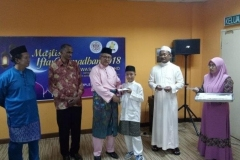 Majlis Iftar Ramadhan 2018 - Penyampaian Sumbangan Korporat Kepada Anak-Anak Yatim daripada Persatuan Kebajikan Anak Yatim Islam Tawau (PRAY) 1