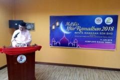 Majlis Iftar Ramadhan 2018 - Ucapan Aluan Ybhg. Ketua Pegawai Eksekutif BWSB