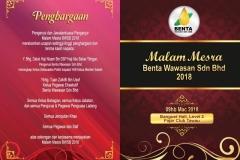 Malam Mesra BWSB 2018 - Welcome