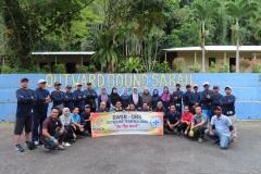 2nd Session Team Building, Outward Bound School, Kinarut Sabah / 9-11 February 2019